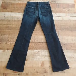7 For All Mankind Jeans High Waist Bootcut sz 25